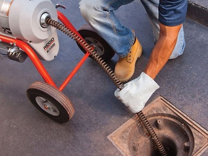 drain cleaning clogged removal plumbing vancouver   bluesky1